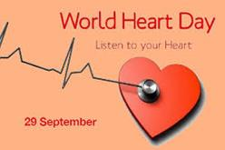World Heart Day is celebrated every year on 29 September