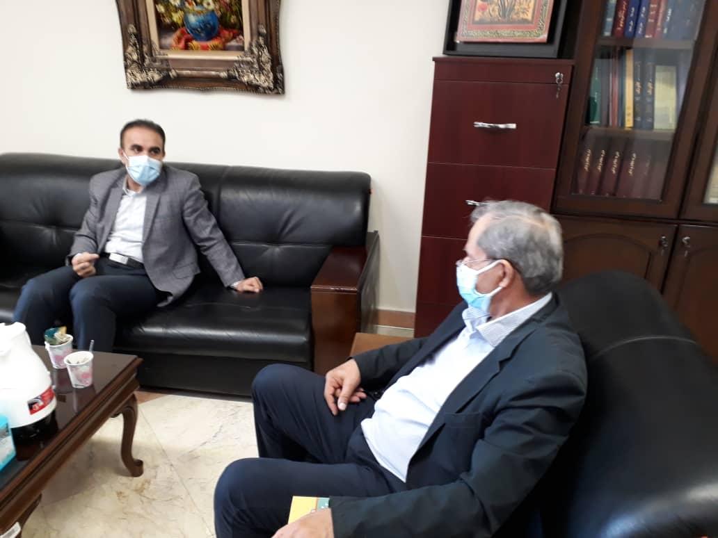 عضو هیات مدیره نظام پزشکی تهران با رئیس کل نظام پزشکی دیدار کرد